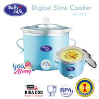 Baby Safe Digital Slow Cooker Multifungsi LB007 Perlengkapan MPASI