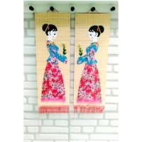 Tirai Bambu Dekorasi Rumah Oleh Hiasan Jepang China Kado Ultah Murah