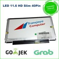 Layar lcd led laptop notebook Asus X201 X201E S201 LED 11.6 Slim