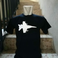 baju kaos pria PESAWAT TEMPUR bigsize t shirt tshirt kaos distro