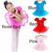 Baju Ballet Balet Anak Perempuan Kostum Tutu Penari Ballet Ballerina