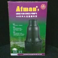 Atman HA25 / HA 25 Pompa Air Celup 25.000 LPH