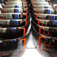 kaca helm flat-visor pnp kyt rc7, kyt r10, kyt k2r iridium silver
