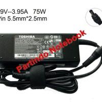 Adaptor Charger Laptop Toshiba Satellite A105 A300 L300 19V 3.95A ORI