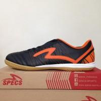 Branded Harga Nungsep Sepatu Futsal Specs Horus In Black Orange 400313