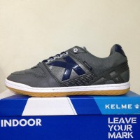 Branded Harga Nungsep Sepatu Futsal Kelme Intense Dark Grey 55781-702