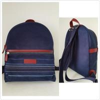 Tas Ransel Long Champ Original Longchamp Backpack Fabric Blue Marine