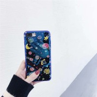 Oppo F5 Case Hologram SPACE PLANET SERIES Softcase Casing Blue Light