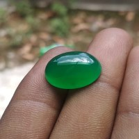 Batu Cincin Akik Murah Kalsedon Hijau Chrysoprase Chalcedony