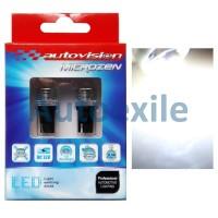 Autovision Microzen LED T10 4-3020SMD 220Lm Putih Lampu Senja Mobil