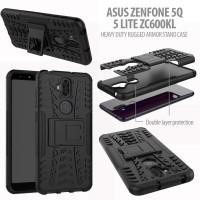 Asus Zenfone 5Q / 5 lite ZC600KL - Heavy Duty Rugged Armor Stand Case