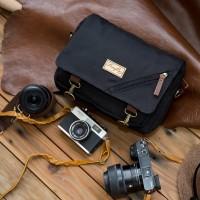 Tas Kamera Sling Bag Camera Mirrorless Waterproof Firefly Duncan Black
