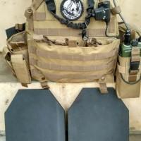 Rompi Anti Peluru / Rompi anti peluru Dummy / Vest / Body Armour