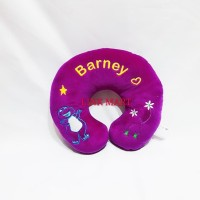 Bantal Leher Bantal Mobil Traveling Barney