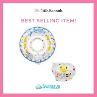 Limited Swimava Neck Ring Diaper Blue Duckie