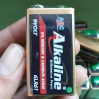 baterai battery kotak ABC Alkaline 9 VOLT batre 6LR61