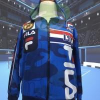 Baju Jaket Anak Co / Cowo / Pria / Laki FILA Size 18