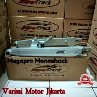Swing arm supertrack Megapro monoshock model baru