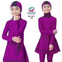 Baju Renang Anak Muslim Muslimah Usia 2-6 Tahun ML-AK-P-003