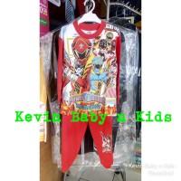 Setelan baju tidur piyama anak laki laki Power Ranger size 16 18 20
