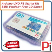 ARDUINO UNO R3 SMD STARTER KIT COMPATIBLE COMPLETE VERSION + CD EBOOK