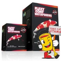 Flexy Coat Waterponding Cat Kolam 2.5 Kg set