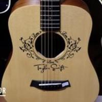 Taylor Taylor Swift Baby Taylor Guitar Big promo