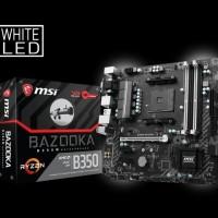 Promo MSI B350M Bazooka AM4 AMD Promontory B350 DDR4 USB3.1 SATA3