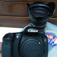 canon 60d + lensa canon 10 - 22