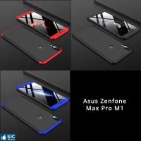 Asus Zenfone Max Pro M1 Armor 360 Full Cover Baby Skin Hard Case 1100 - Hitam
