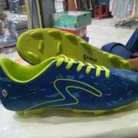 Sepatu Sepak Bola Specs Barricada Ultima Biru Hijau Soccer Football