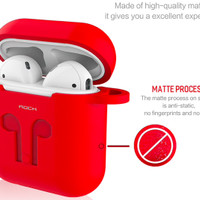 APPLE POUCH PREMIUM EARPHONE AIR PODS AIRPODS CARRYING CASE ORIGINAL