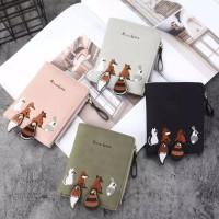 Dompet Wanita Cewek wallet Karakter Motif Cute Lucu Unik Impor J11FX