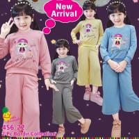 Baju Setelan Anak Perempuan Little Pineapple LP LOL Star Girl Kulot
