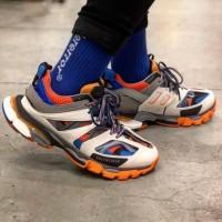 Balenciaga Track Trainer Sneakers Orange UA Original