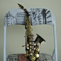 KM Saxophone - Baby Saxophone Soprano Curved Japan