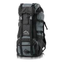 TERLARIS Backpack Tas Gunung Hiking Kemping Outdor Abu Hitam 50L MURAH