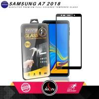 Tempered Glass Samsung A7 2018 Antigores Kaca Screen Protector Cover