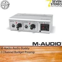 M-Audio Audio Buddy Budget Preamp Big promo