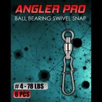 Ball Bearing Swivel Snap Lock No 4 Kili Kili