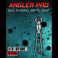 Ball Bearing Swivel Snap Lock No 3 Kili Kili