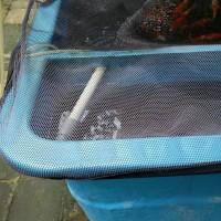 Net / Jaring / Waring Penutup Bak / Kolam Ikan Persegi 200x100 cm