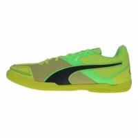 ready Sepatu Futsal Puma Invicto Sala Hijau Stabillo Original Asli