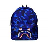 Tas Ransel Backpack A BATHING APE BAPE CAMO SHARK FullPrint ART 15