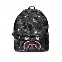 Tas Ransel Backpack A BATHING APE BAPE CAMO SHARK FullPrint ART-16