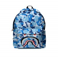 Tas Ransel Backpack A BATHING APE BAPE CAMO SHARK FullPrint ART-01