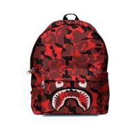 Tas Ransel Backpack A BATHING APE BAPE CAMO SHARK FullPrint ART-09
