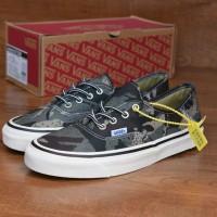 Sepatu Vans Authentic Camo Grey Perfect Kick Quality Import BNIB
