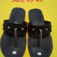 kerajinan sandal karet sandal japit dari ban mobil truk