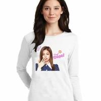 Kaos Baju Tshirt Kpop Korea Blackpink Jennie 02 Lengan Panjang
